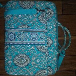 Vera Breadley Blue Laptop Bag